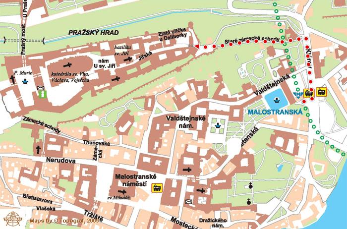 怎么抵达布拉格城堡4