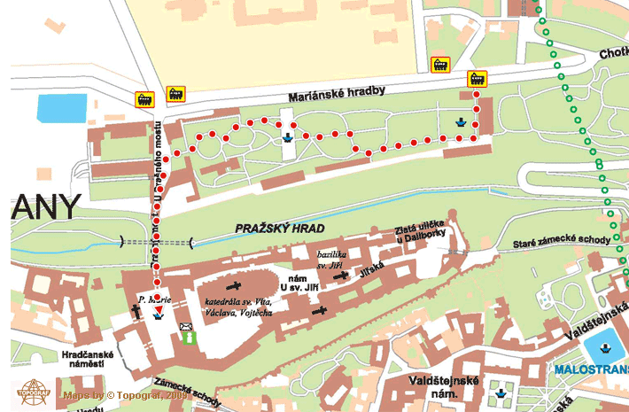 怎么抵达布拉格城堡5