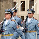 布拉格城堡警卫