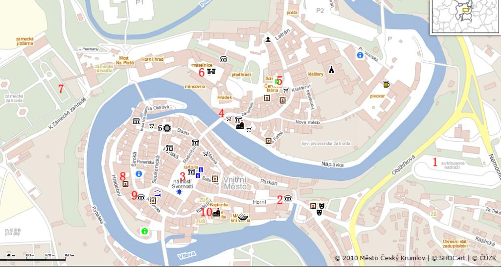 CK小城旅游景点地图