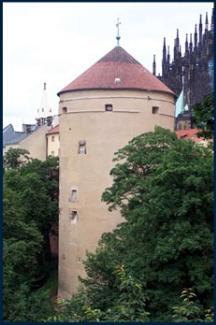 布拉格城堡景区火药塔