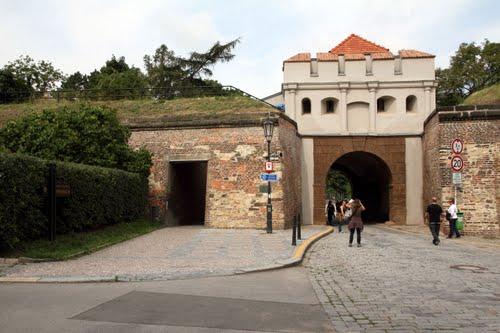Vyšehrad Tábor Gate