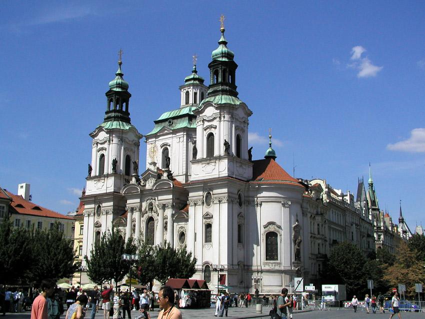 圣尼古拉教堂 - 布拉格老城