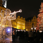 布拉格老城广场 圣诞节