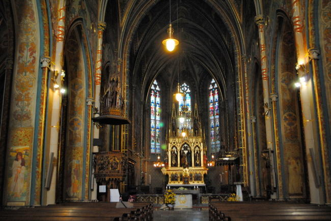 圣彼得与圣保罗大教堂(chrám sv. Petra a Pavla)