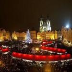 布拉格老城广场 圣诞市场